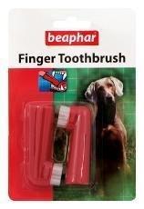 Beaphar Finger Toothbrush 2pk 1