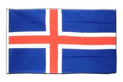 Island Flagge, isländische Fahne 60 x 90 cm, MaxFlags®