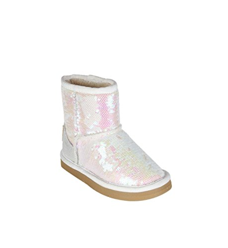 Bottines à sequin - fille Blanc