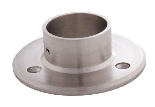 Edelstahl Wandanschluss für Rohr 42,4 mm - V2A (S014108)