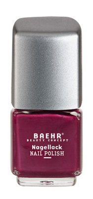 Baehr, Nagellacke, 25527, aubergine pearl, 11 ml