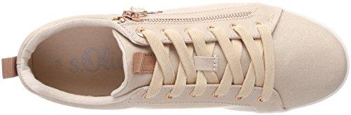 s.Oliver Damen 25201 Sneaker pink (rose metallic)