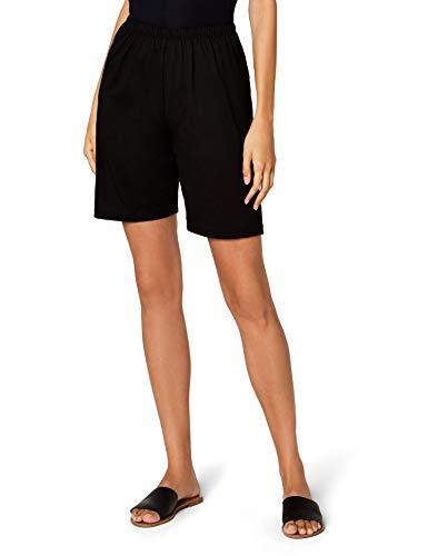 Trigema Damen Bermuda, 536104, Schwarz (Schwarz 008), 44  (Herstellergröße: L) (Damen-kurz Baumwoll-jersey)