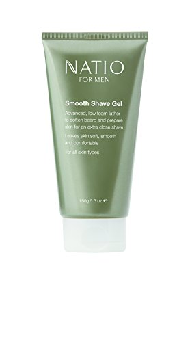 Natio Smooth Shave Gel for Men - 150 g
