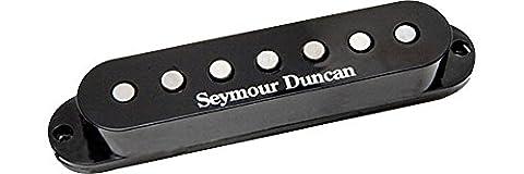 Seymour Duncan SSSL-5 7 STR Custom Staggered Strat (7 String) schwarz