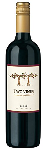 6x 0,75l - 2012er - Columbia Crest - Two Vines - Shiraz - Washington - Rotwein trocken