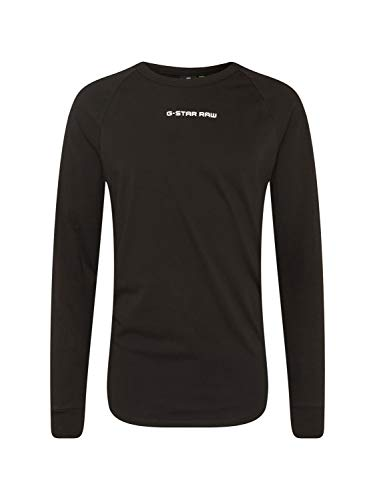 G-STAR RAW Swando graphicelaxed T-Shirt, Herren , Schwarz (Dk Black 6484), Medium (Herstellergröße:M) (Medium UK)