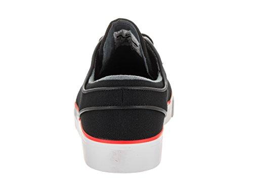 Nike Zoom Stefan Janoski Cnvs, Chaussures de Skate Homme BLACK/BLACK-MAX ORANGE
