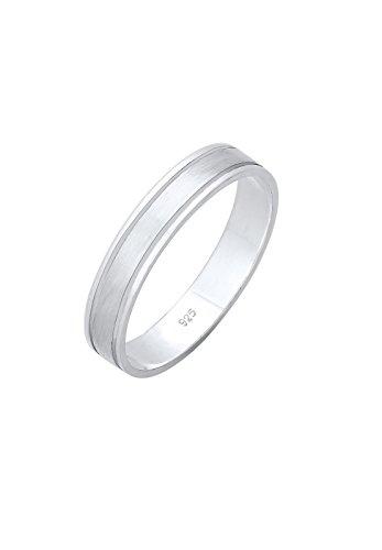 Elli Premium Damen-Dezenter Ehering 925 Sterling Silber 0611831317_62