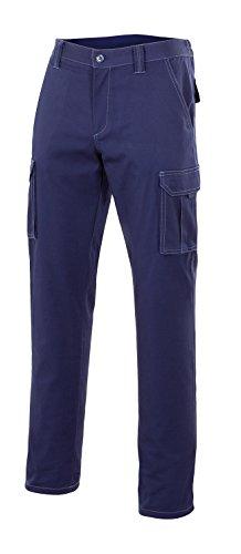 Velilla 103001 - Pantalón multibolsillos (talla 60) color azul marino