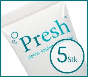 Presh® biologischer Zahnersatzreiniger 5 Stück