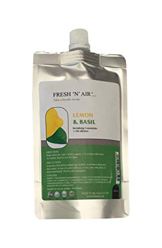 * LEMON & BASIL Air Purifier Fragrance Essence (100ML)