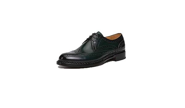 YXPNU Chaussures en Cuir pour Hommes, Robe Business