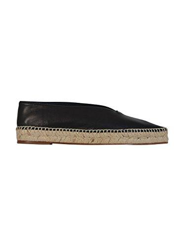celine-womens-320893nsp38no-black-leather-espadrilles