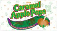 Tootsie Caramel Apple Pops– 15 count Bag (226.5