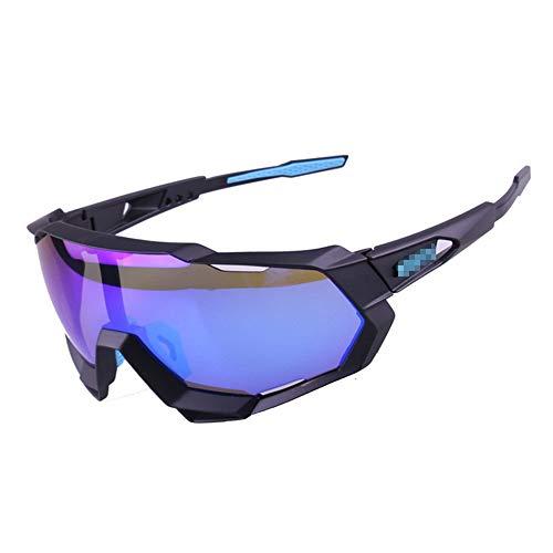 Haikellos-G Herren/Damen Sonnenbrille Outdoor Sports Tour DE Frankreich Mountainbike Reiten Sonnenbrillen und Brillen Sport Augenschutzbrille (Farbe : D)