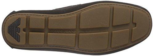 Armani Jeans 0658855 Herren Mokassin Braun (marrone - Marrone J7)