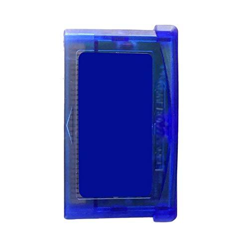 Jiobapiongxin Klassische Spielkarten für Nintendo GBA SP Spiel TV Video Game Player Spiel Memory Card Video-TV-Konsole Nein Aufkleber JBP-X