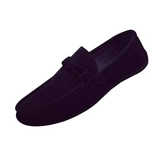 GongzhuMM Mocassins Homme Mode Suède Chaussures Beanie Plates Chaussures de Ville Chaussures de Marche Chaussures de Conduite 39-42.5 EU
