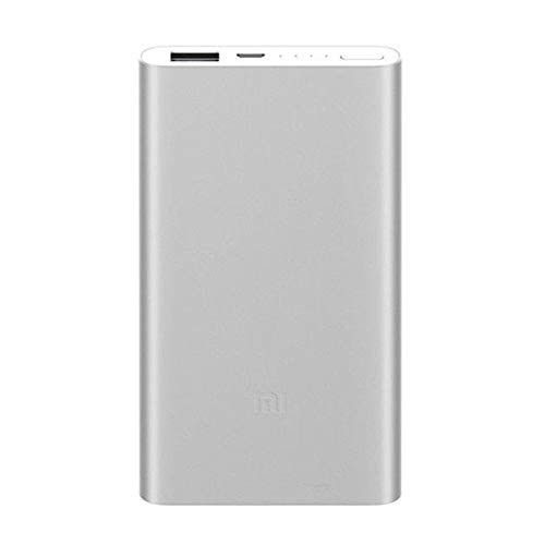 Xiaomi 17961 -Mi Power Bank 2, 5000 mAh, Silber