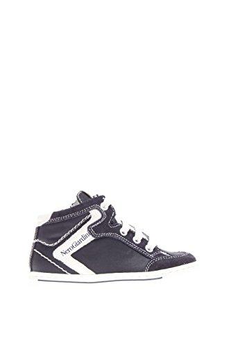 Noir jardins Junior Enfant Sneaker haute p623790 m-200 Sneaker haute Chamois Tissu - bleu - bleu, 21 EU