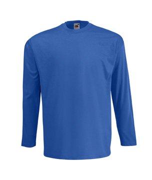 Fruit of the Loom Herren Langarm T-Shirt 61-038-0 Deep Navy XL