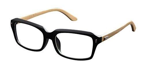 De Ding - Monture de lunettes - Femme - Noir mat