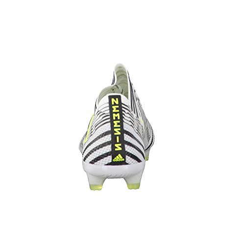 adidas Men    s Nemeziz 17 1 Fg Football Boots  White  Ftwbla Amasol Negbas   9 UK 9 UK