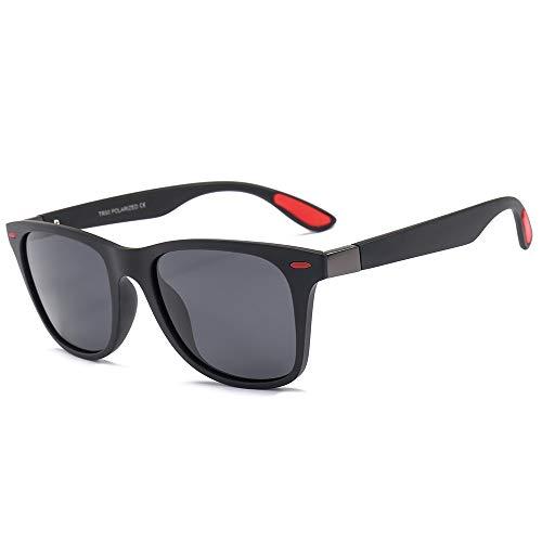 Yiph-Sunglass Sonnenbrillen Mode TR90 Brillengestell TAC1.1 Polarized Sonnenbrillen Damen Herren Fahrbrille (Farbe : C2, Größe : Free Size)