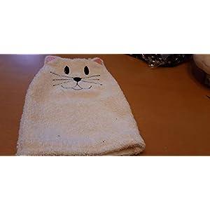 Katzen Waschhandschuh Geschenk noch inletzter Minute