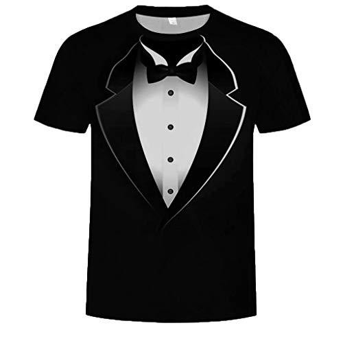 - T Shirt Mit Anzug