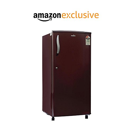 Kenstar 190 L 3 Star Direct-cool Single Door Refrigerator (nh203ebr-fda, Burgundy Red)