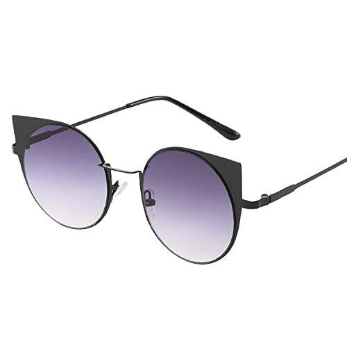 It's-ok Small Round Sunglasses Women Retro Frames Brand Designer Eyeglasses Lentes,E