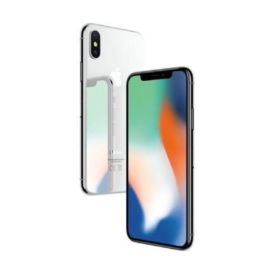 Apple iPhone X - Smartphone con pantalla de 14 7 cm  256 GB  Plata