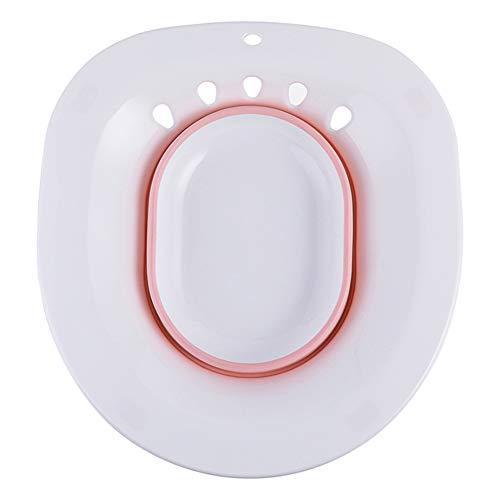 Womens Relief (Syfinee Foldable Bidet Wash Basin Hemorrhoidal Relief Pregnant Women Maternity Hip Cleaning Avoid Squatting)