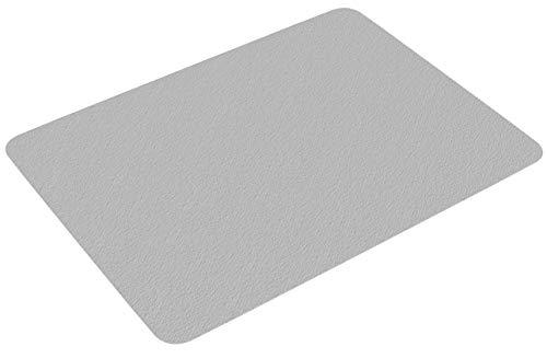 Bodenschutzmatte transparent 122 x 92 cm, Slypnos Bürostuhl Unterlage PVC ohne BPA & Phthalate, für Laminat, Parkett, Fliesen und Hartböden