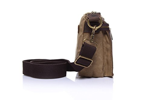 Yvonnelee Cancas Tasche Handtasche Henkeltasche Schultertasche für Damen und Frauen Einfarbig Khaki