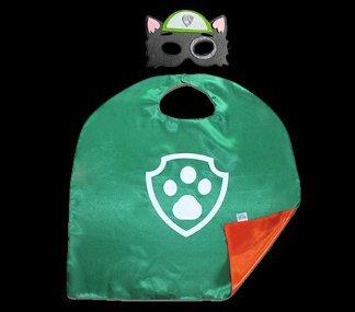 Superheld Kostüme Masken Capes Satin Kostüm Maske Kap Satins Paw Patrol (Rocky)