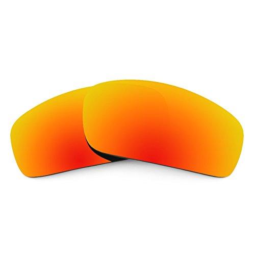 Revant Ersatzlinsen für Oakley Monster Pup Feuerrot MirrorShield®