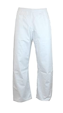 S.B.J. Pantalon de sport de combat Blanc 180