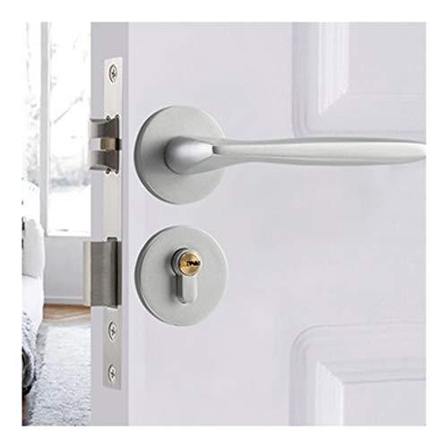 Cerradura de la puerta del baño Cerradura de la palanca de aleación