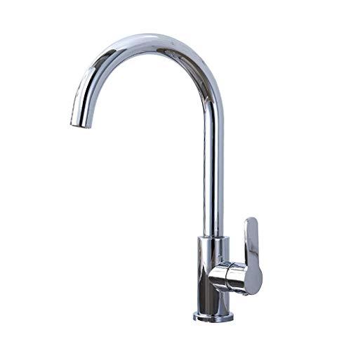 Magosca Montiert Küche Waschbecken Wasserhahn Bad Einzigen Kalten Wasserhahn Waschbecken Wasserhahn Feine Kupfer Material Waschbecken Drehbare Einzigen Kalten Wasserhahn For Einfach Zu Installieren -