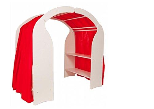 Preisvergleich Produktbild Spielständer Spielhaus Waldorf Buche WEISS 1005 Kinder-Spielständer von Holzspielzeug-Peitz