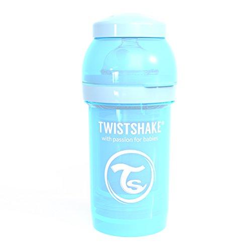 Twistshake 78250 - Biberón, color pastel azul
