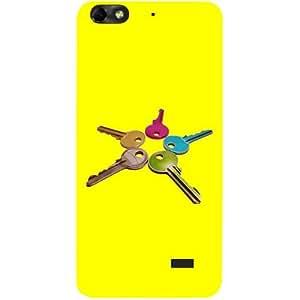Casotec Colorful Keys Design Hard Back Case Cover for Huawei Honor 4C