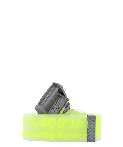 OFF-WHITE Cintura Uomo Omrb017s198510216200 Fibre Sintetiche Giallo