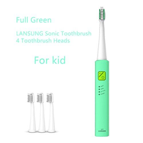 Masterein Wasserdicht Sonic automatische elektrische USB-Lade Zahnbürste nachladbare elektrische Zahnbürste für Erwachsene Kinder Kindermodelle