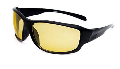 TheWhoop UV Protected Day & Night HD Vision Anti-Glare Goggles Sports Yellow Driving Sunglasses  available at amazon for Rs.299