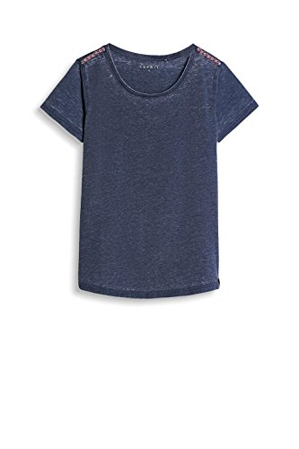 ESPRIT Sports Damen T-Shirt Blau (Navy 400)