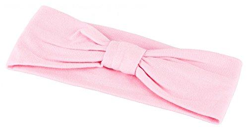tanzmuster Kinder Ballett Haarband / Stirnband in Knotenoptik. Ein praktisches Accessoire für den Ballettunterricht in rosa
